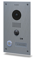DoorBird D202 Video Doorbell , Full Stainless Steel, Flush