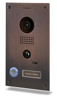 DoorBird D202B Video Door Station , Full Stainless Steel, Bronze Finish, Flush