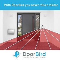 DoorBird A003 Replacement Mounting Kit for Video Doorbell D20x Series