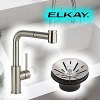 Elkay LZS8WSLP Filtered Enhanced EZH2Or Bottle Filling Station with Single Ada Cooler Light Gray