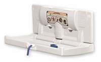 Foundations 100-EH Horizontal Baby Changing Station, Light Gray