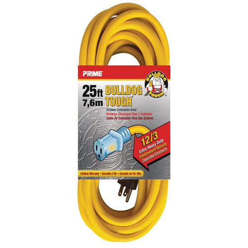 Hafele 008.74.203 Extension Cord, Heavy Duty with Primelight Indicator Light