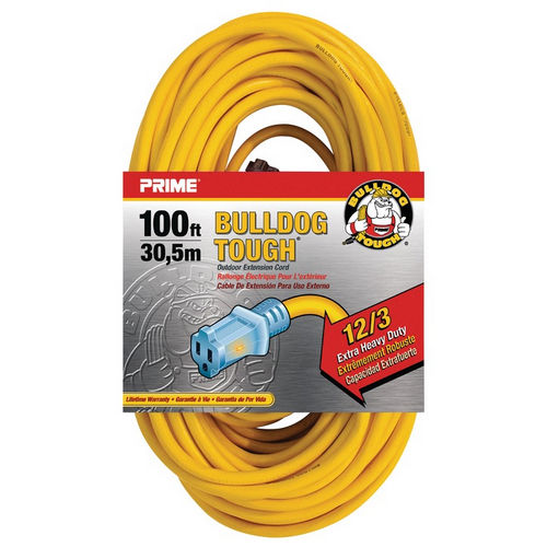 Hafele 008.74.205 Extension Cord, Heavy Duty with Primelight Indicator Light