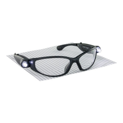 Hafele 007.48.046 Safety Glasses, with LED, Magnification, Anti-Fog