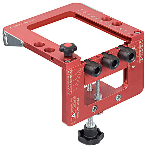 Hafele 001.25.600 Red Jig Basic Jig, Anodized Aluminum