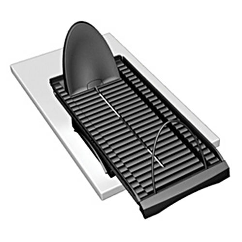 Hafele 810.48.382 Flipworks Express Pull-Out Tray, Plastic Black