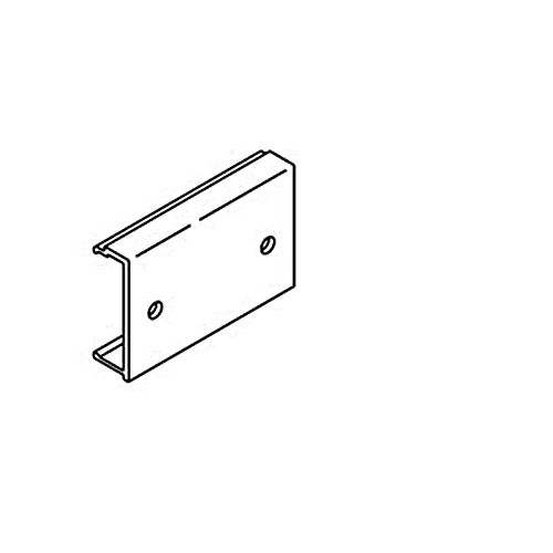 Hafele 941.00.070 End Piece To Fascia, Aluminum Anodized