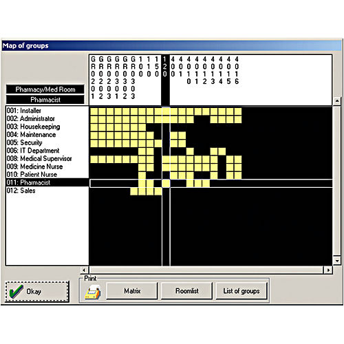 Hafele 917.52.010 Personnel Software Programming Set
