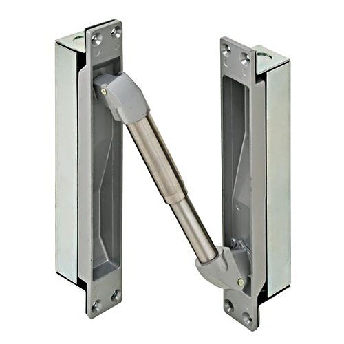 Hafele 912.02.074 Power Transfer Device Concealed Mortise Mounted, Metal Brushed Aluminum