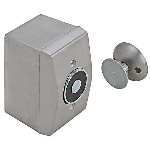 Hafele 912.05.322 Electro-Magnetic Door Holder Surface Wall Mounted Steel and Zinc Aluminum Painted