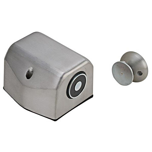 Hafele 912.05.324 Electro-Magnetic Door Holder Floor Mounted Steel and Zinc Aluminum Painted