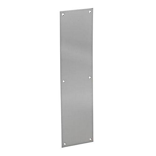 Hafele 987.33.001 Push Plate, Satin Stainless Steel