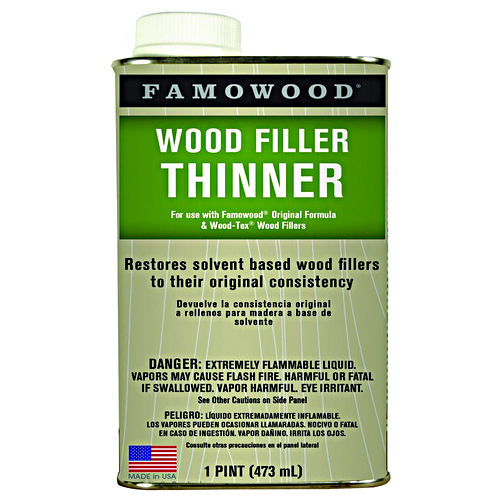 Hafele 007.39.209 Wood Filler Thinner, FAMOWOOD