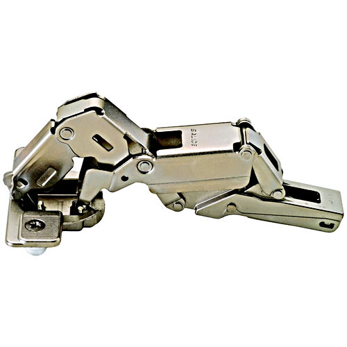 Hafele 329.60.500 Concealed Hinge, 155°, With Zero Protrusion, Nickel-plated