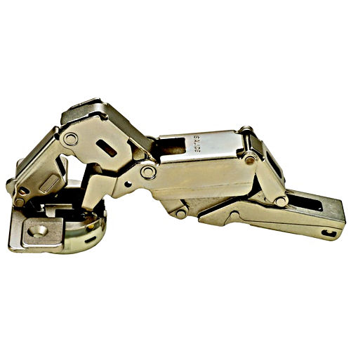 Hafele 329.61.500 Concealed Hinge, 155°, With Zero Protrusion, Nickel-plated