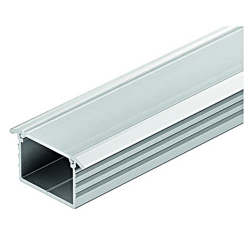 Hafele 833.72.867 Aluminum Profile, for Recess Mounting