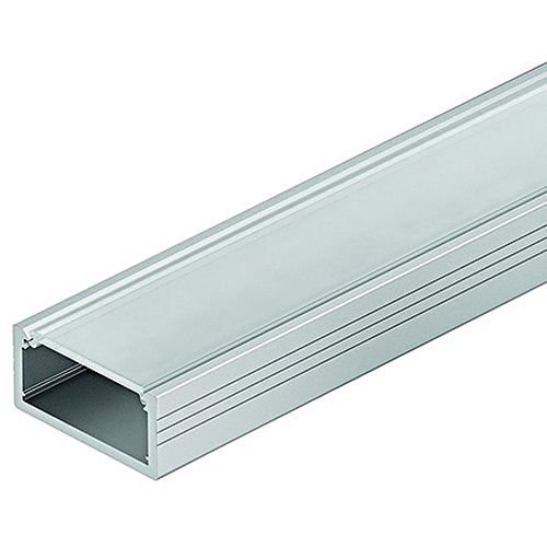 Hafele 833.72.860 Aluminum Profile, for Surface Mounting