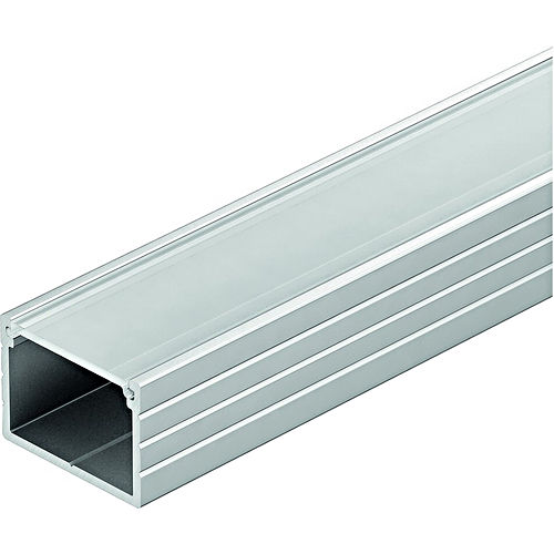Hafele 833.72.861 Aluminum Profile, for Surface Mounting