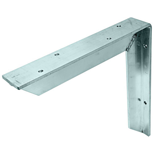 Hafele 287.74.052 Countertop Support Bracket, Aluminum with Mill Finish
