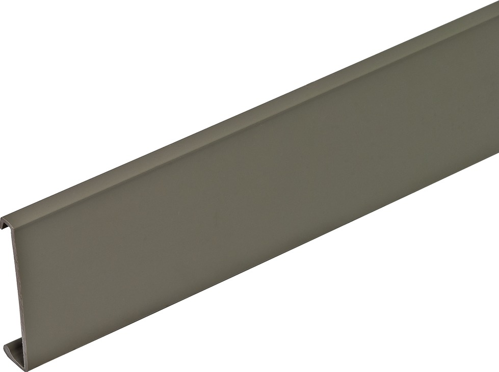 Hafele 290.12.581 Wall Rail Cover Strip, Plastic