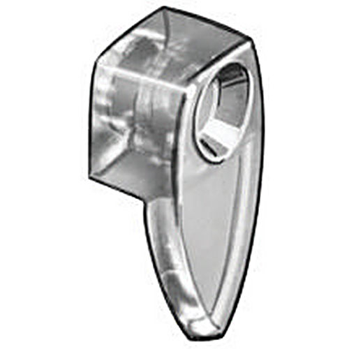 Hafele 291.09.402 Mirror Clip Oval, Plastic Transparent