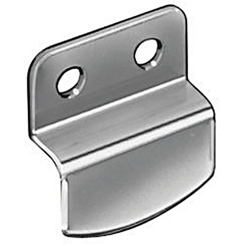 Hafele 291.21.015 Mirror Clip, Cranked Nickel