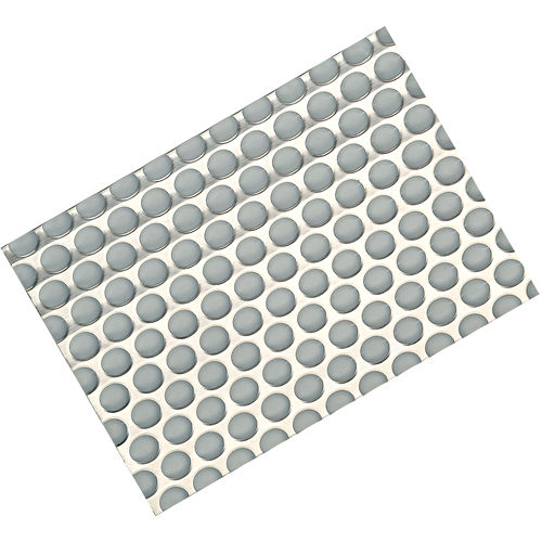 Hafele 547.91.550 Sink Mat, Plastic Gray with Stainless