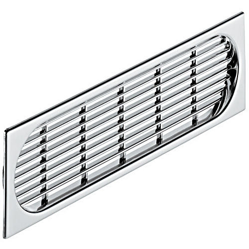Hafele 571.52.208 Ventilation Grill, Plastic Chrome Plated