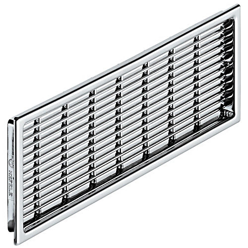 Hafele 571.54.248 Ventilation Grill, Plastic Chrome Plated