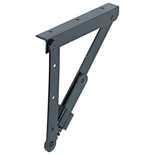 Hafele 642.81.300 Folding Bracket, Black