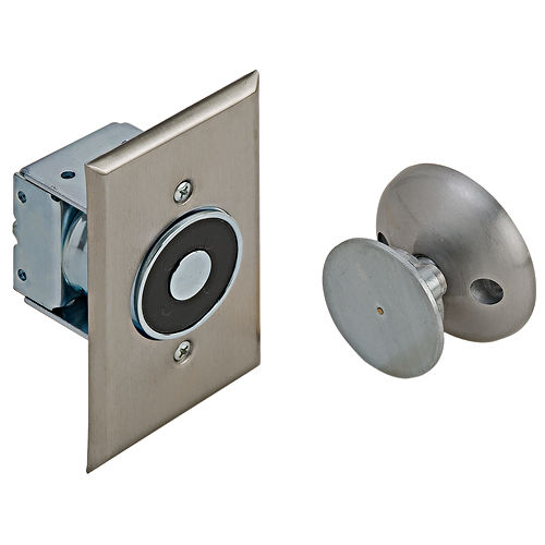 Hafele 912.05.320 Electro-Magnetic Door Holder, Aluminum Painted
