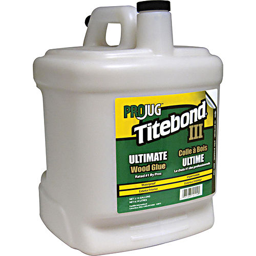 Hafele 003.15.063 Titebond Iii Projug Glue 2.15 Gallons, Ultimate Wood