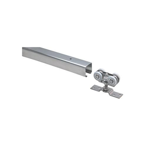 Hafele 941.06.931 Top Track with Bracket, Soffit or Side-Mounted With Bracket