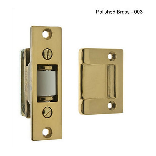 IDH 12017-008 Heavy Duty Silent Roller Latch with Rectangle Strike, Bright Copper