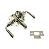 IDH 21252-014 Storm Screen Door Latch (Dual Lever) Polished Nickel