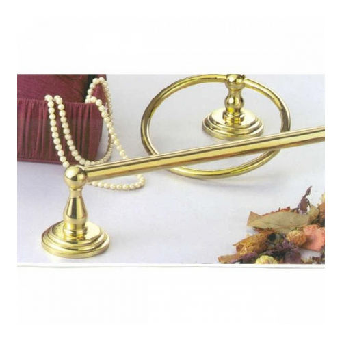 IDH B33118-04N Bel-Air Towel Ring, Natural Brass
