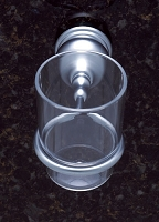 JVJ 23904 Liberty Series Tumbler Holder, Matte Chrome