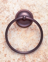 JVJ 24406 Paramount Series Towel Ring, Old World Bronze