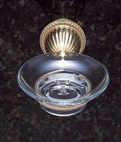 JVJ 28803 Renaissance Series Soap Dish, Polished Brass