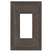Keeler P31036-9346 Wallplate Single, Antique Satin Bronze
