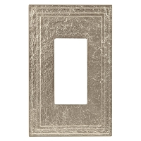 Keeler P31036-9347 Wallplate Single, Natural White Bronze