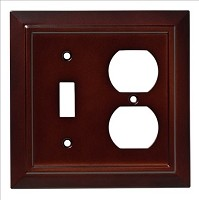 Franklin Brass W35245-ESO-C Classic Architecture Switch/Duplex Wall Plate/Switch Plate/Cover, Espresso