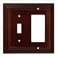 Franklin Brass W35246-ESO-C Classic Architecture Switch/Decorator Wall Plate/Switch Plate/Cover, Espresso