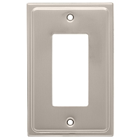 Franklin Brass 126363 Country Fair Single Decorator Wall Plate