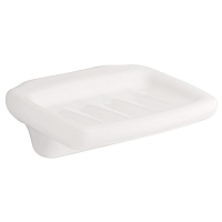Franklin Brass D8006W Tuscan Ceramics Soap Dish, White