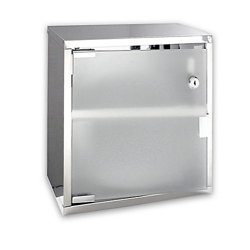 Palmer Fixture CS8500-09 Stainless Cabinet - Virtually Unbreakable