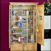 Richelieu 522221CR Chef's Roll-Out Pantry