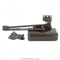 Richelieu EXI100079BN Door Closer Light Duty