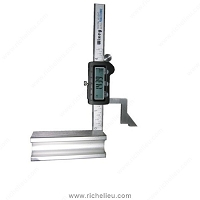Richelieu 91480200 Digital Height Gauge with Fractions