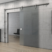 Richelieu 89IN15302170 Self-closing gravity System for Glass Doors